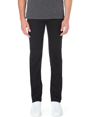 ARMANI JEANS J50 slim-fit tapered jeans