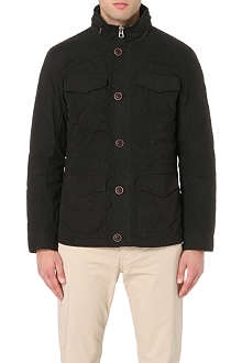 ARMANI JEANS Double-layered quilted field jacket