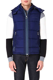 ARMANI JEANS Quilted gilet