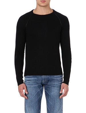 ARMANI JEANS Elbow-patch jumper