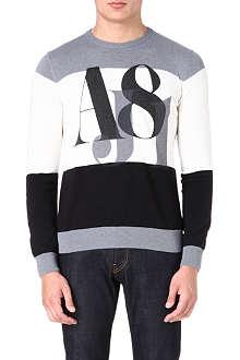 ARMANI JEANS AJ81 knitted jumper