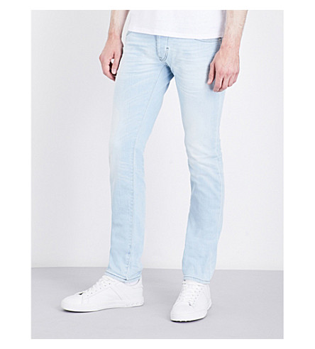 ARMANI JEANS J20 slim-fit straight jeans (Light