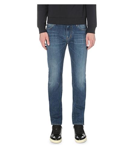 ARMANI JEANS Slim-fit straight jeans (Blue1