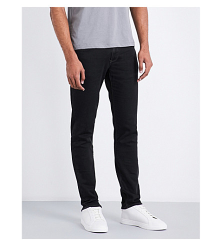 ARMANI JEANS J06 slim-fit skinny jeans (Black