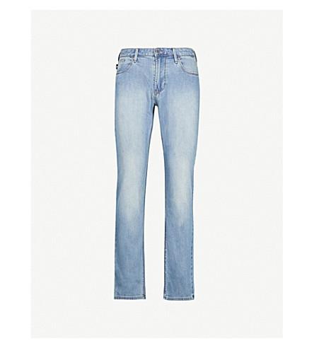 EMPORIO ARMANI J06 slim-fit straight jeans (Denim blu