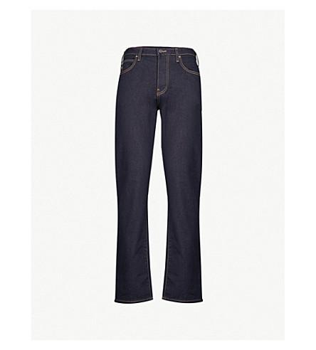 EMPORIO ARMANI J21 Comfort regular-fit straight jeans (Denim blu