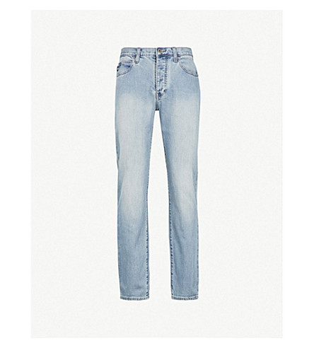 EMPORIO ARMANI J21 regular-fit straight jeans (Denim blu