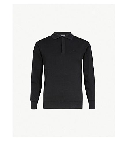 e4c2bcfb2cf7c EMPORIO ARMANI - Slim-fit cotton polo shirt