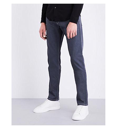 ARMANI JEANS J06 slim-fit straight jeans (Grey