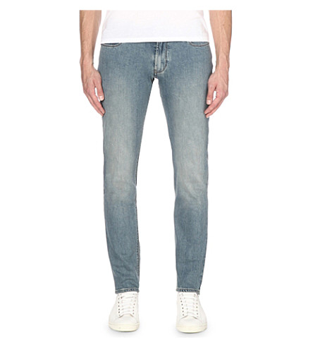 ARMANI JEANS J06 slim-fit jeans (Denim+indaco