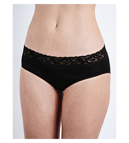 HANRO Moments midi briefs (Black