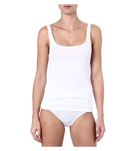 HANRO Everyday vest top (White