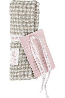 LINUM Organic face cloth