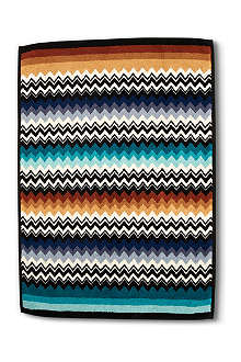 MISSONI HOME Niles bath mat blue multi brights