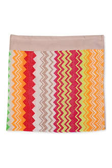 DEYONGS Chevron beach towel