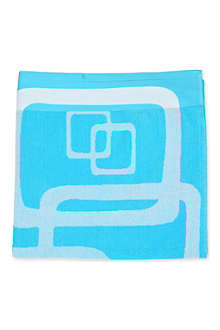DEYONGS Blue Lagoon bath towel