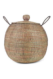 EA DECO Ali Baba medium basket brown