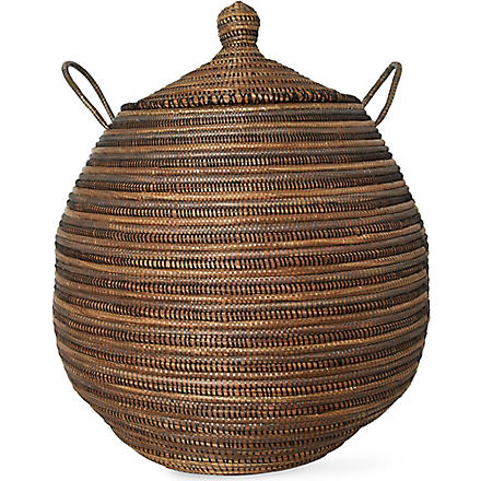 EA DECO Ali Baba large tri-colour basket