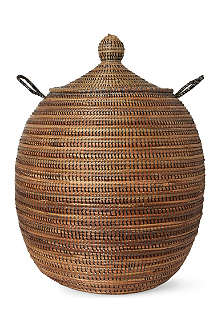 EA DECO Ali Baba medium tri-colour basket