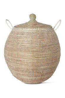EA DECO Ali Baba large basket white