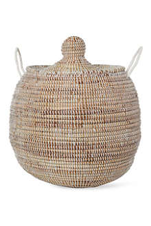 EA DECO Ali Baba small basket white