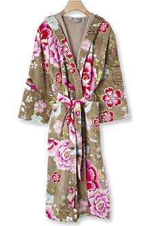 PIP STUDIO Birds of Paradise cotton robe khaki