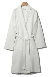 THE FINE COTTON COMPANY Trento fine waffle robe