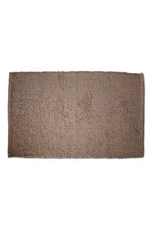 BY NORD Bath mat brown