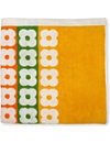 ORLA KIELY Multi flower stripe bath sheet