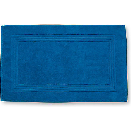 SELFRIDGES Cyan bath mat (Cyan