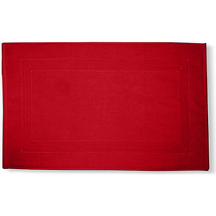 SELFRIDGES Red bath mat (Red