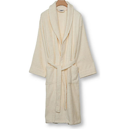 SELFRIDGES Cream robe (Cream