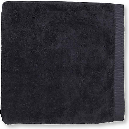 SELFRIDGES Charcoal bath sheet (Charcoal