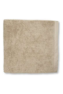 SELFRIDGES Retreat bath sheet stone