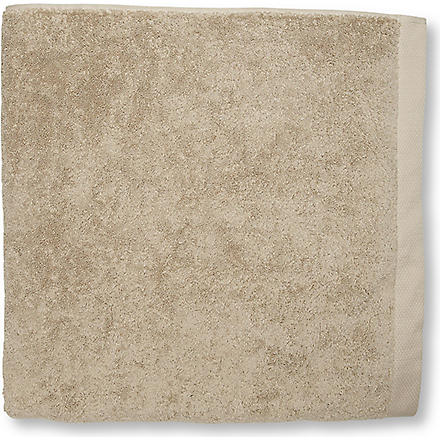 SELFRIDGES Stone bath towel (Stone