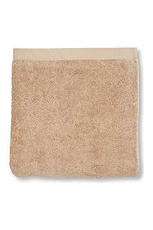 SELFRIDGES Caramel hand towel