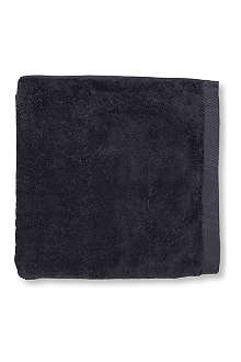 SELFRIDGES Charcoal hand towel