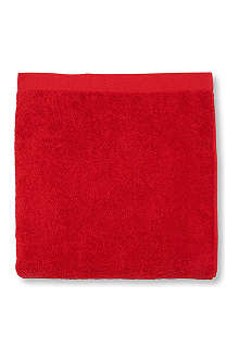 SELFRIDGES Red hand towel