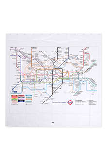 IZOLA London Underground shower curtain