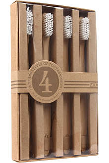 IZOLA Numerals wooden toothbrush set