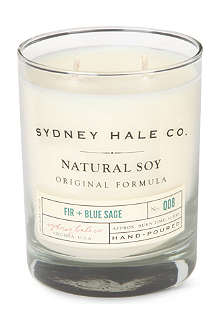 SYDNEY HALE CO. Fir and Blue Sage candle