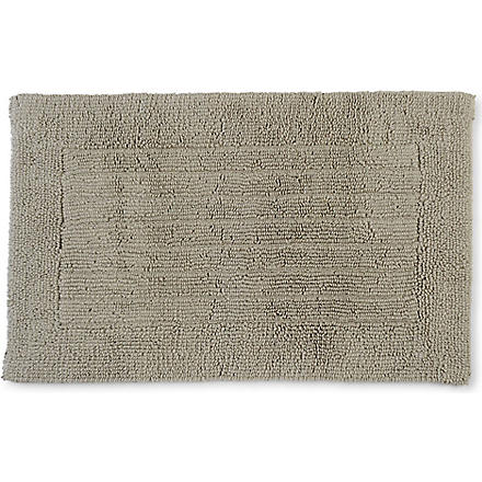 CHRISTY Reversible bath mat stone