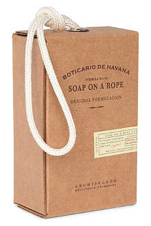 ARCHIPELAGO Boticario de Havana soap on a rope
