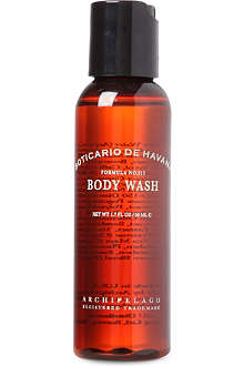ARCHIPELAGO Boticario de Havana travel body wash 50ml