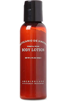 ARCHIPELAGO Boticario de Havana travel body lotion 50ml