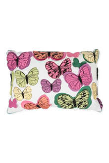 KAS Chintz Butterfly cushion