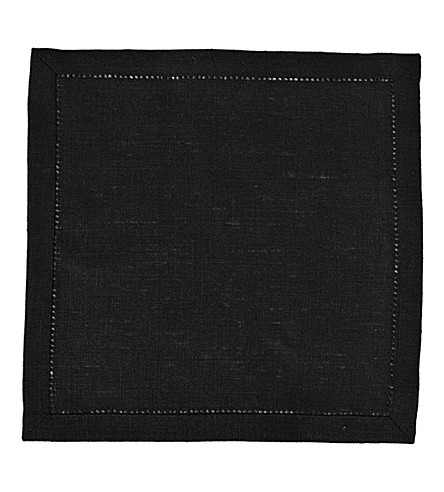 LINUM Invit cocktail linen napkin 42cm