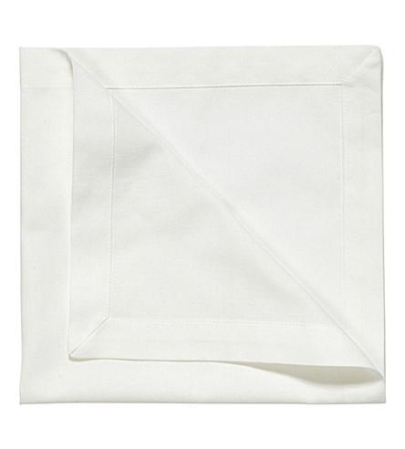 LINUM Robert linen napkin 4 pack 45cm