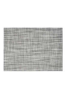 CHILEWICH Black and white tablemat