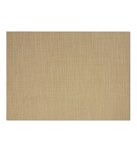 CHILEWICH Natural vinyl placemat